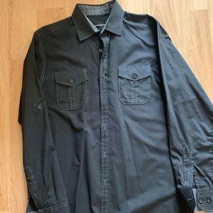 Michael Brandon button up shirt